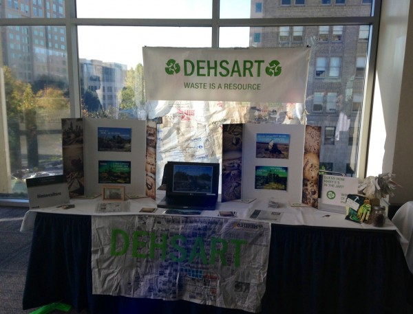 DEHSART CalRecycle booth
