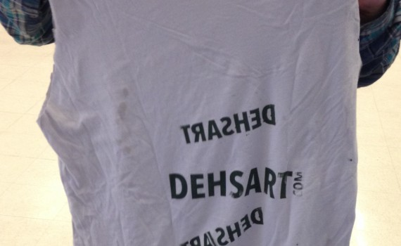 DEHSART is TRASHED spelled backwards!